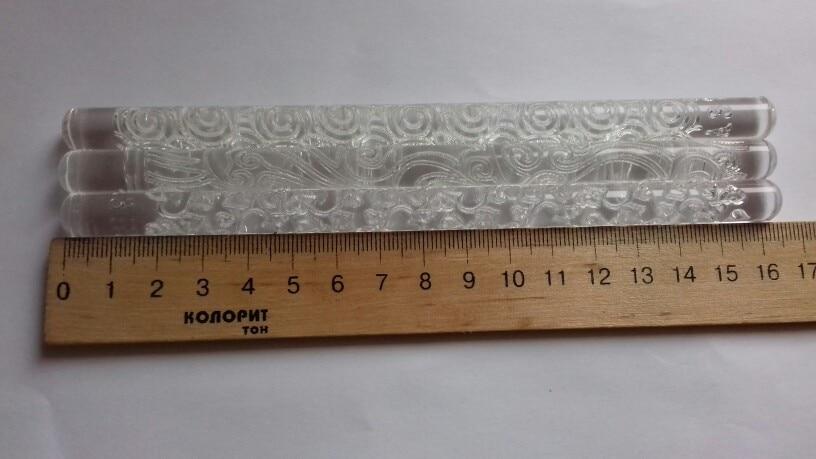 Acrylic Rolling Pin Designed Fondant Cake photo review