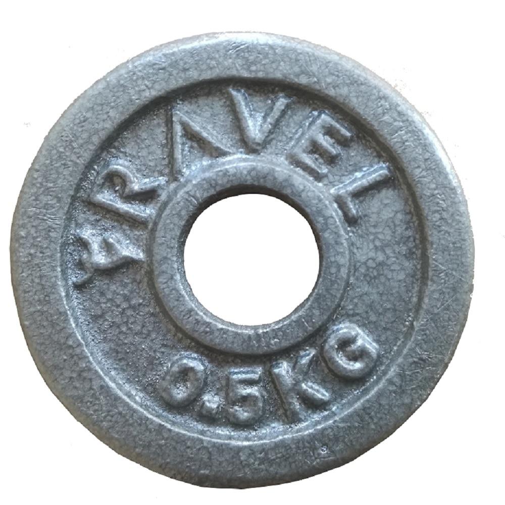 2 Pcs 0,5 kg Hantel Disk Gewichte Für Fitness gewichtheben Crossfit Ausrüstung Barbell Gym Muscle Festigkeit Übung Barbell
