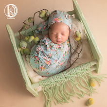 Don&Judy Floral 7pcs Set Newborn Photography Props Outfits Accessories Baby Phot