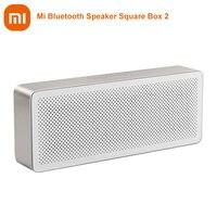Original Xiaomi Mi Bluetooth Speaker Square Box 2 Estéreo portátil inalámbrico Bluetooth 4.2 HD Alta definición Calidad de sonido Reproducir