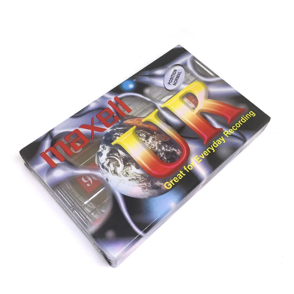 Аудио кассета UR 90 минут Maxell для записи звуковой информации на магнитную ленту|Аксессуары для проекторов| | АлиЭкспресс