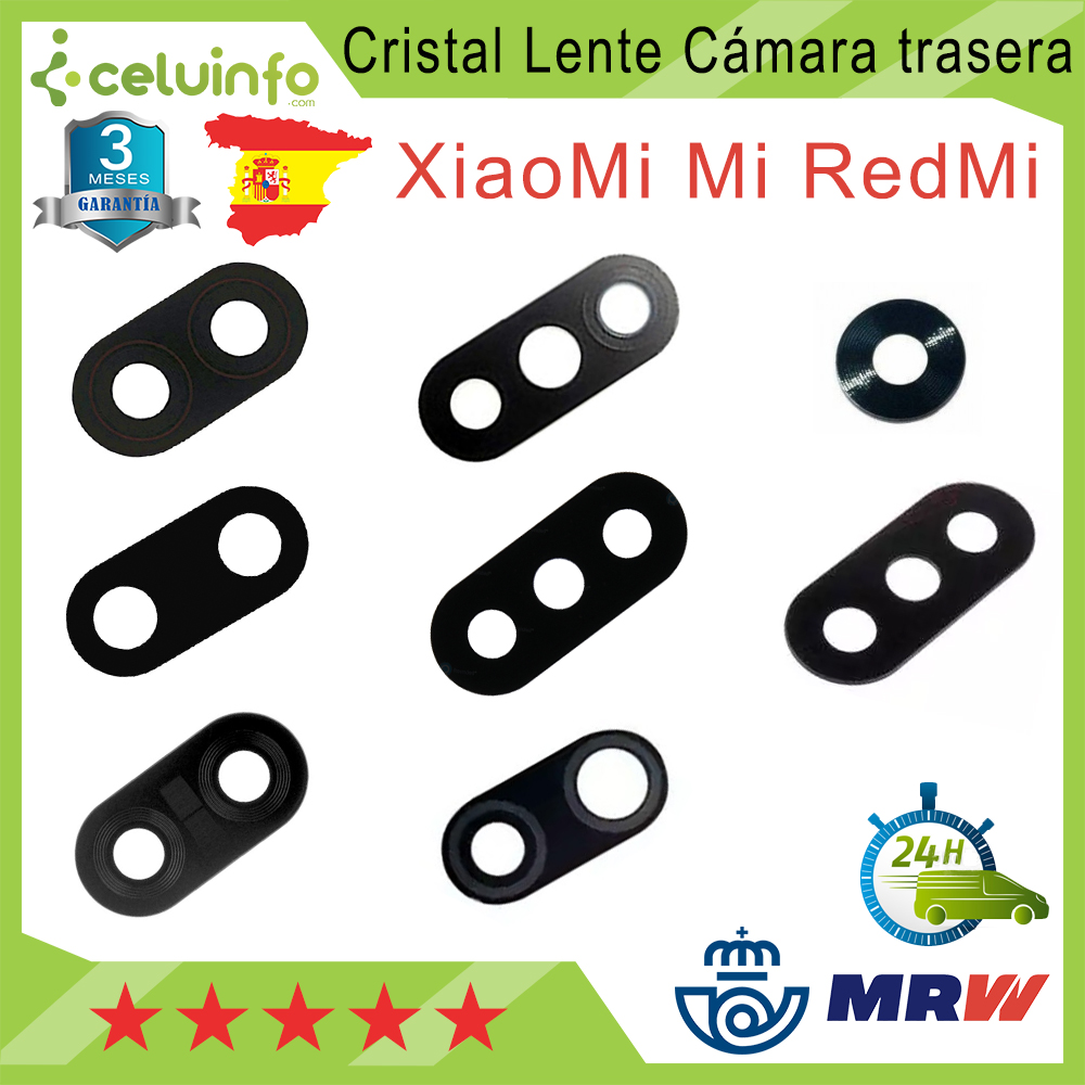 Rear Camera Lens Glass For Xiaomi Redmi Pocophone F1 / Redmi S2 / 5 Plus / 6/6A/redmi 6 Pro (my A2 Lite) / 7 / Note 7