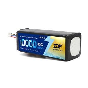 Image 3 - ZDF bateria Lipo 2S, 3S, wtyczka do samolotu RC, samochodu Traxxas, ciężarówki RC, 7,4 V/11,1 V 10000 mAh, 35C Max 70C XT90 /XT60/T