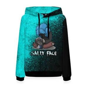 Женская толстовка 3D Sally face