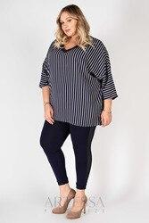 Leggings women artessa plus size, decorative mesh, knitwear