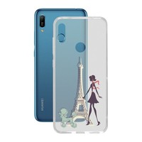 Mobile abdeckung Huawei Y6 2019 Flex Frankreich TPU auf