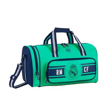 Green canvas sport bag for soccer or gym dimensions: 47x27x26 cm. Free Shiping