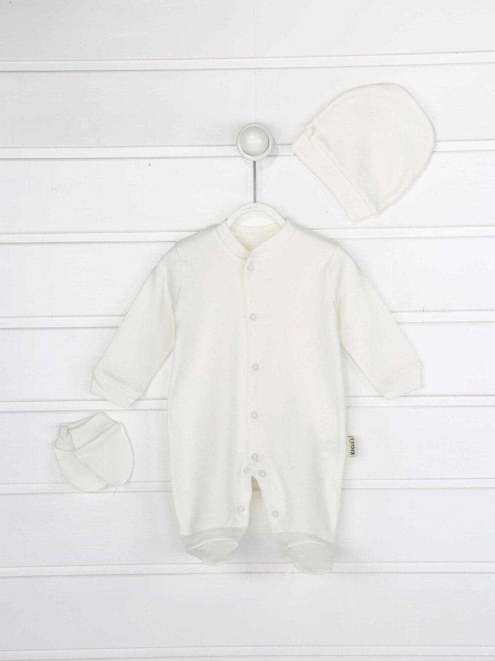 045-2154-027 Beyaz Erkek Bebek 3 lü Tulum (1)