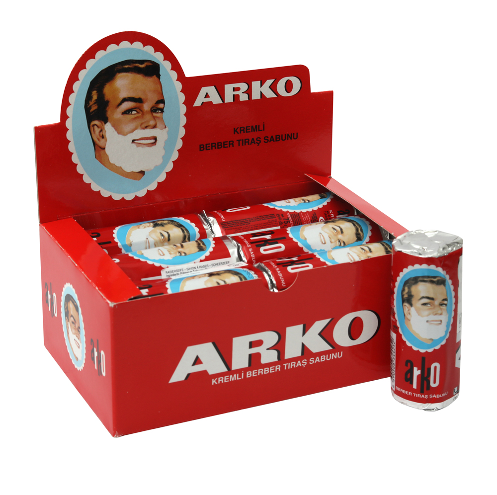 ARKO Men Shaving Soap Stick 75g title=