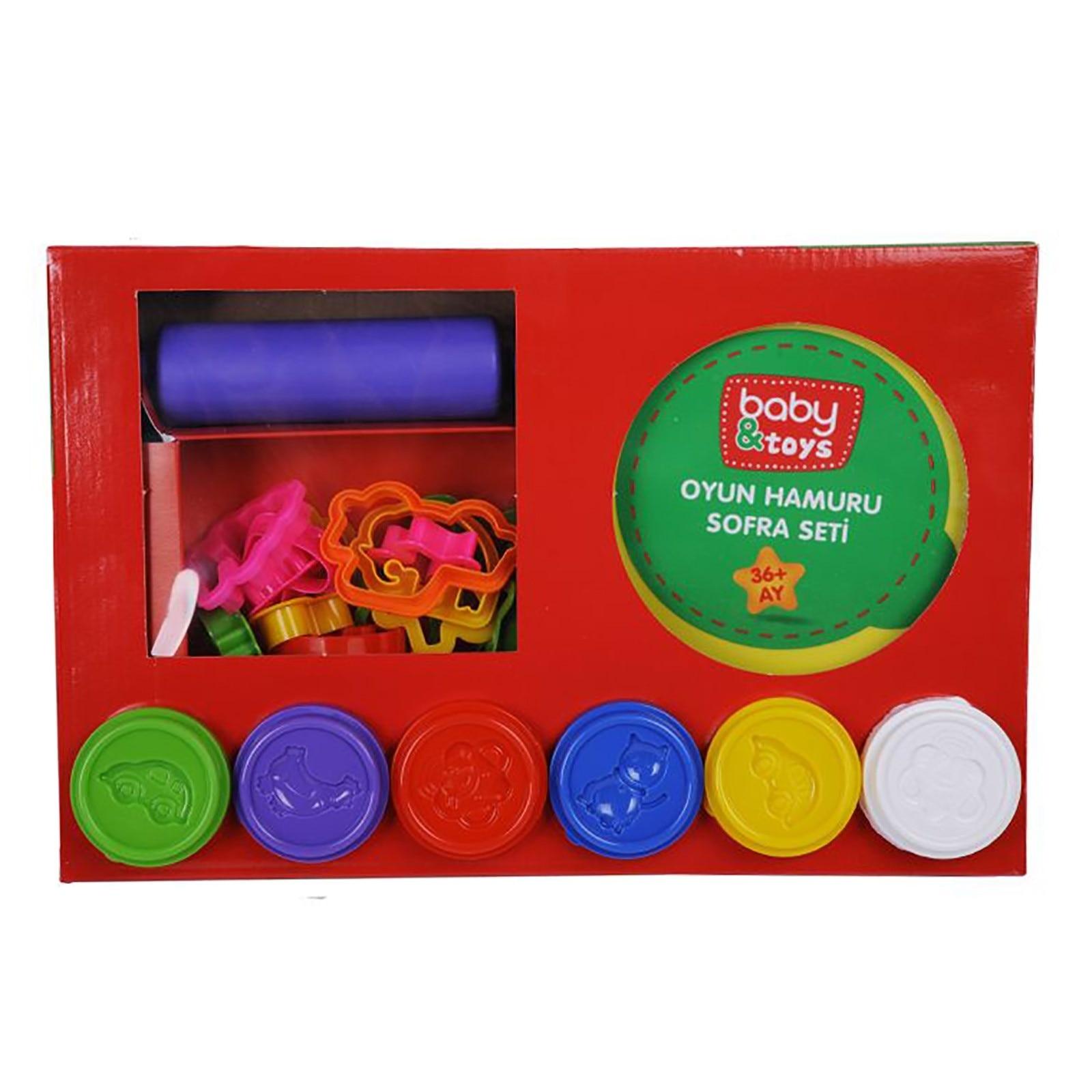 Ebebek Baby&toys Baby Playing Dough Toy Set