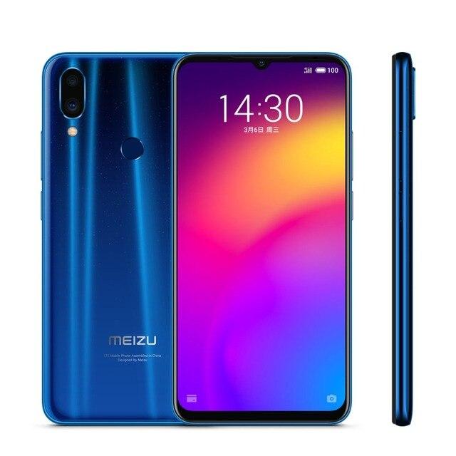 "Global ROM MEIZU Note 9 LTE Mobile Phone Dual SIM 48MP Camera 4GB 64GB Snapdragon675 OctaCore 6.2""1080x2244p 4000mAh Battery 5"