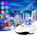 Galaxi Light Galaxy Star проектор ночные светильники Аврора лампа с Bluetooth музыкальный динамик пульт дистанционного управления для спальни детская веч...