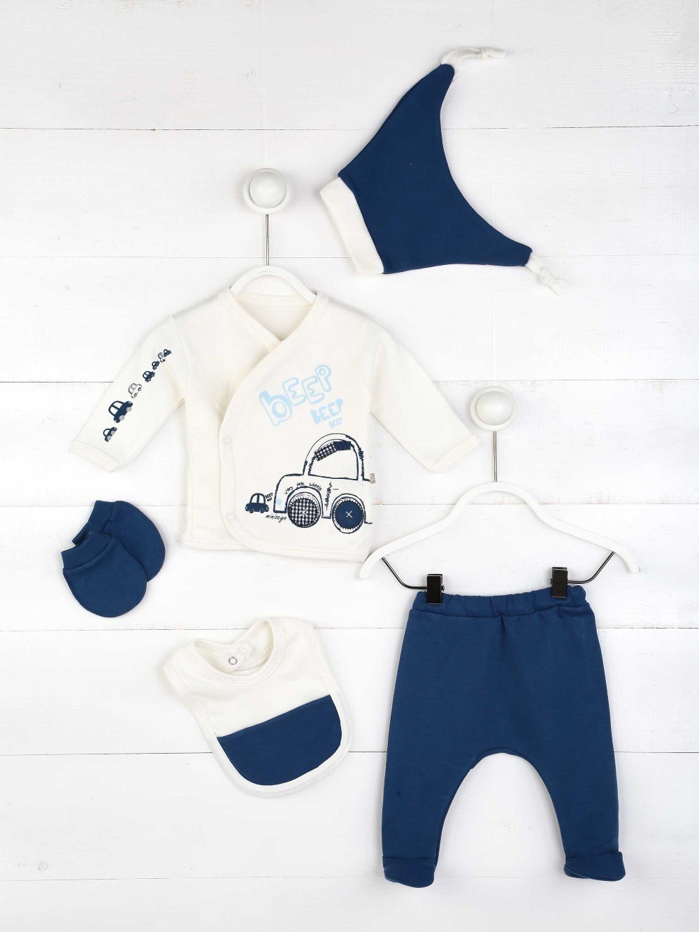 082-5510-012 Lacivert Erkek Bebek 5 li Hastane Çıkışı (1)
