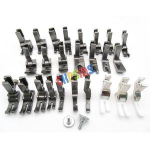 Image 1 - 25PCS PRESSER FEET SET FIT FOR JUKI BROTHER SINGER CONSEW HIGH SHANK SEWING MACHINE #KP PF25