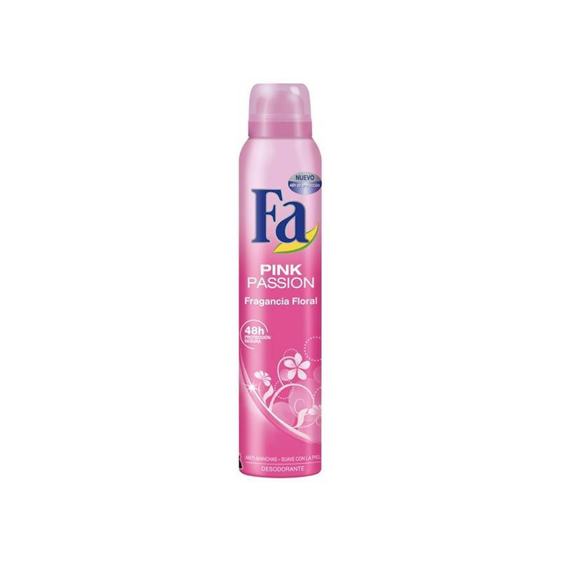 Deodorant Spray Pink Passion Fa (200 Ml)