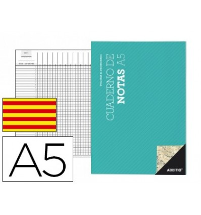 NOTEPAD ADDITIO A5 DISPOSITIONS COURSE AND EVALUATION CONTINUOUS IN CATALAN