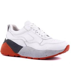 Image 2 - Sail lakers sapatos esportivos casuais femininos de couro branco