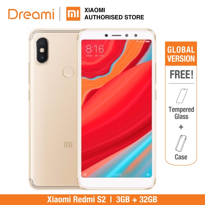 Global Version Xiaomi Redmi S2 32GB ROM 3GB RAM Brand New And Sealed