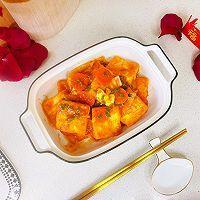 """#美食说出""""新年好""""#茄汁鸡蛋豆腐的做法图解1"""