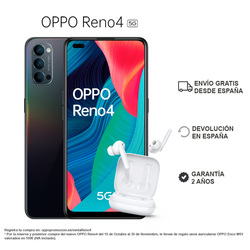 OPPO Рино 4 5G 8GB/128GB, смартфон, 6,4 дюймэкран, разблокировка экрана, 3 задних камеры, 65 Вт supervouc 2,0, ColorOS 7,2