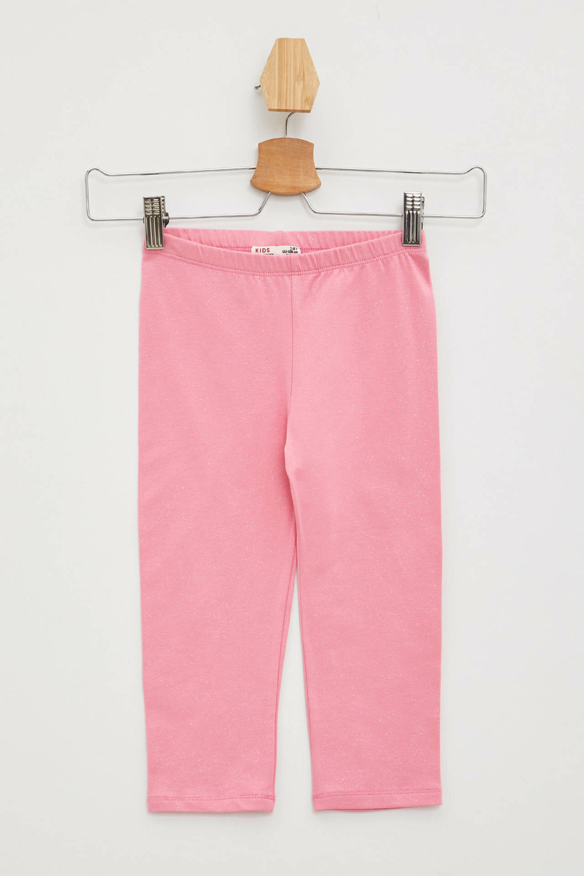 DeFacto Fashion Girl Leggings Kids Casual Elastic Waist Long Pants High Quality Girls Comfortable Pants Pink - K8053A619SM