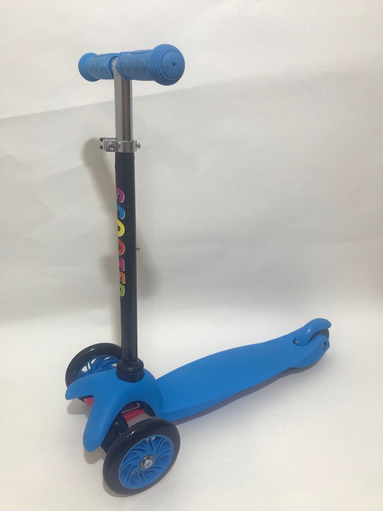 Child Tricycle Scooter Color Mix Max Weight 50 Kg. Ship From Russian Color Box Wheel Pvc