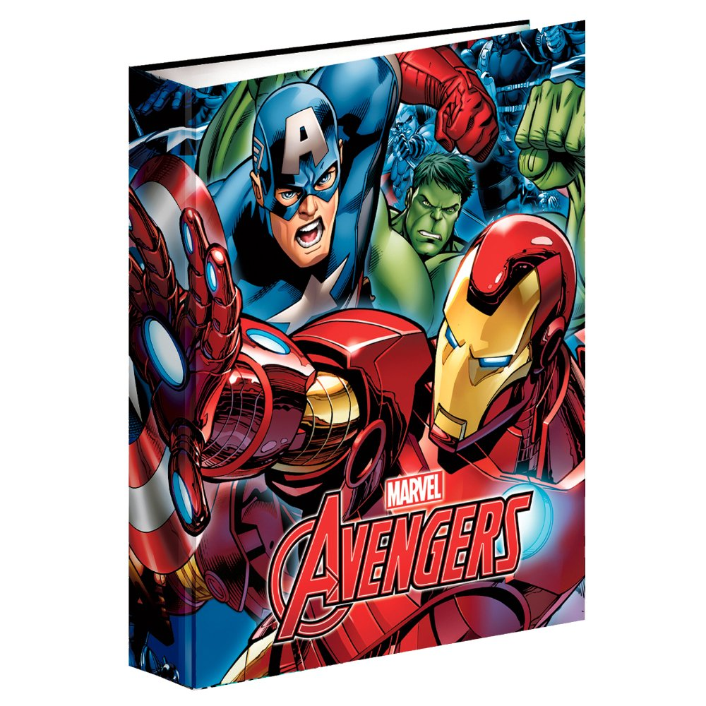 Avengers-Folder Rings A4 (Montichelvo 54292)