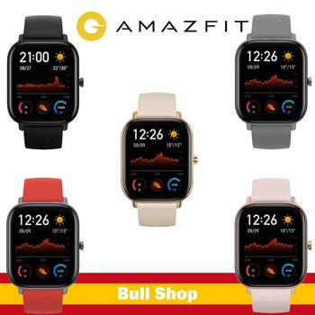 Global Version New watche smart Amazfit GTS 5ATM waterproof smart 14 days battery music control IOS ANDROID