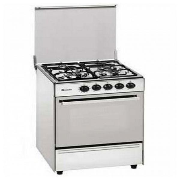Butane Gas Cooker Meireles 60 Cm 57 L White (3 Stoves)