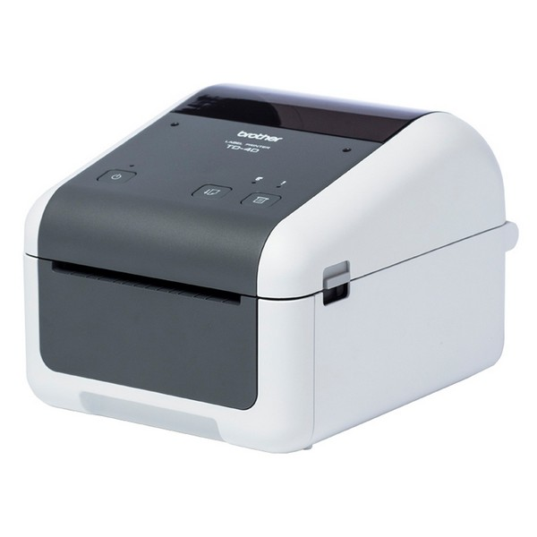 Thermal Printer Brother TD4420DN 203 Dpi LAN USB 2.0 Grey White