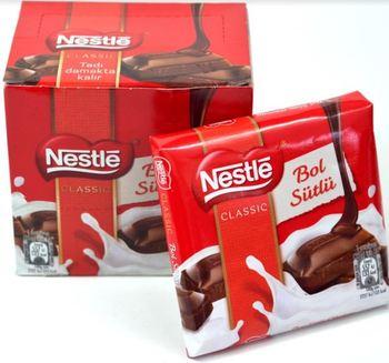 Nestle bogata czekolada mleczna 70 gr x6 sztuk pyszne doskonałe mleko bogate w aromat tanie i dobre opinie Mężczyzna 12 + y DE (pochodzenie)