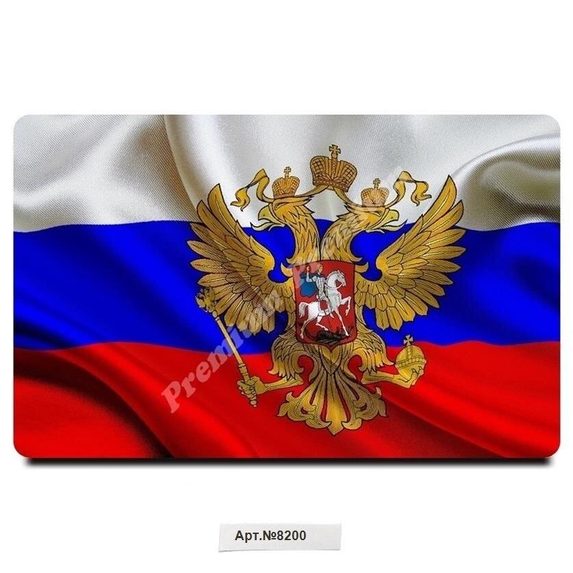 Флаг России Сувенир магнит виниловый, (размеры 54x86 мм). Бесплатная доставка.