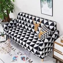 Рождественский Декор эластичный чехол на диван для гостиной