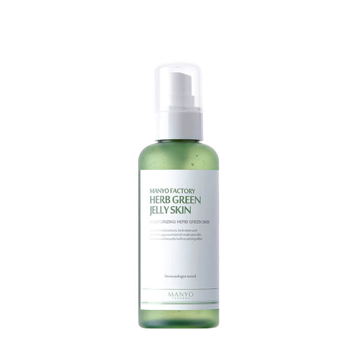 Toner For Face Manyo Factory Herb Green Jelly Skin