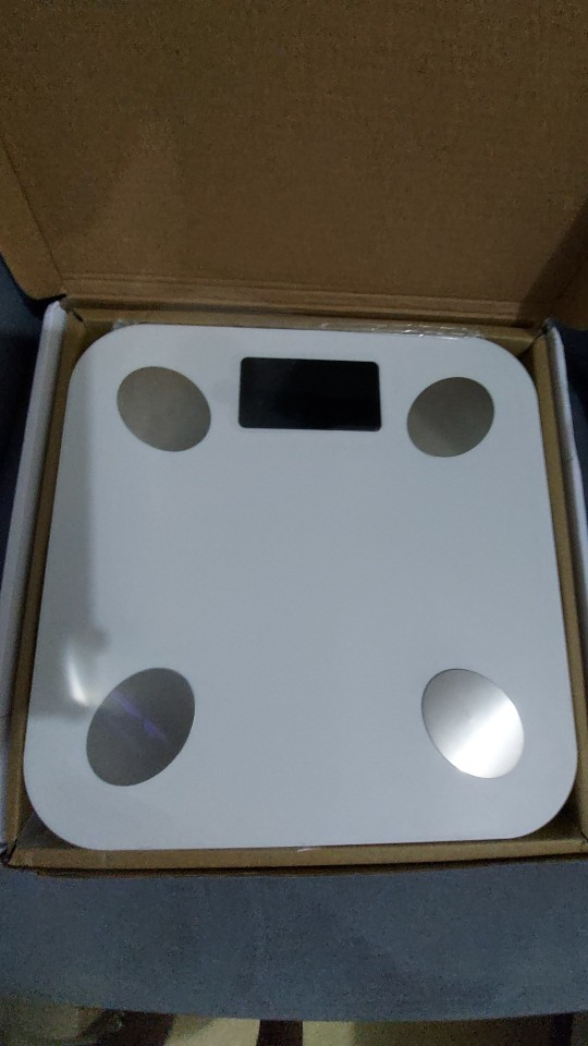 Smart Bluetooth Scale With Active Backlight photo review