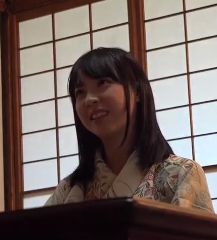 采访一位日本妇女