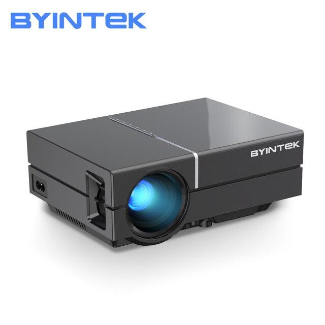 BYINTEK K8 Mini LED แบบพกพา1080P 150นิ้วโฮมเธียเตอร์โปรเจคเตอร์ดิจิตอลสำหรับ3D 4K Cinema (อุปกรณ์เสริม Android 10กล่องทีวี)