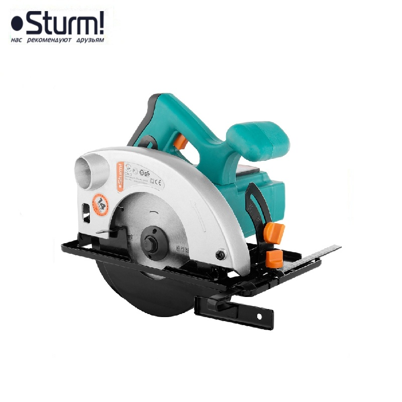 CS50161 Circular saw 1300W, TPD 160x20 mm, cut-55 mm, weight 3.75 kg, dust collection Sturm! Longitudinal, Transverse cuts