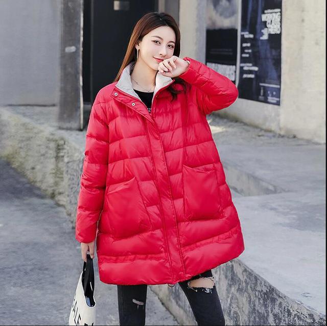2019 hiver manteau femmes vers le bas Parka femmes 90% blanc canard vers le bas yelekler grande taille chaud épais parka lâ