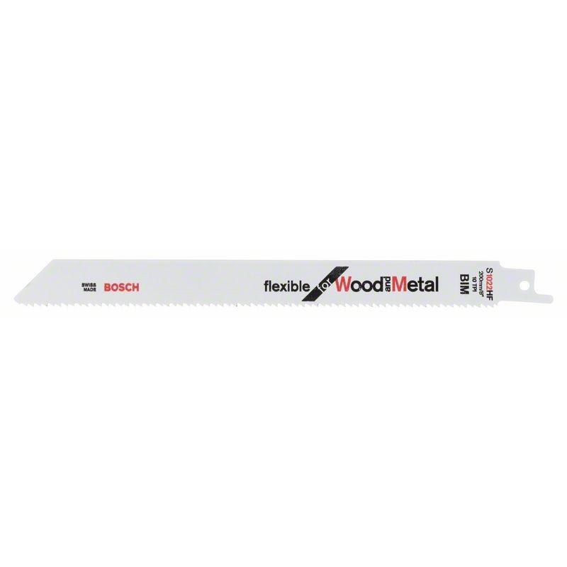BOSCH-saw Blade Sable S 1022 HF Bendable For Wood & Metal