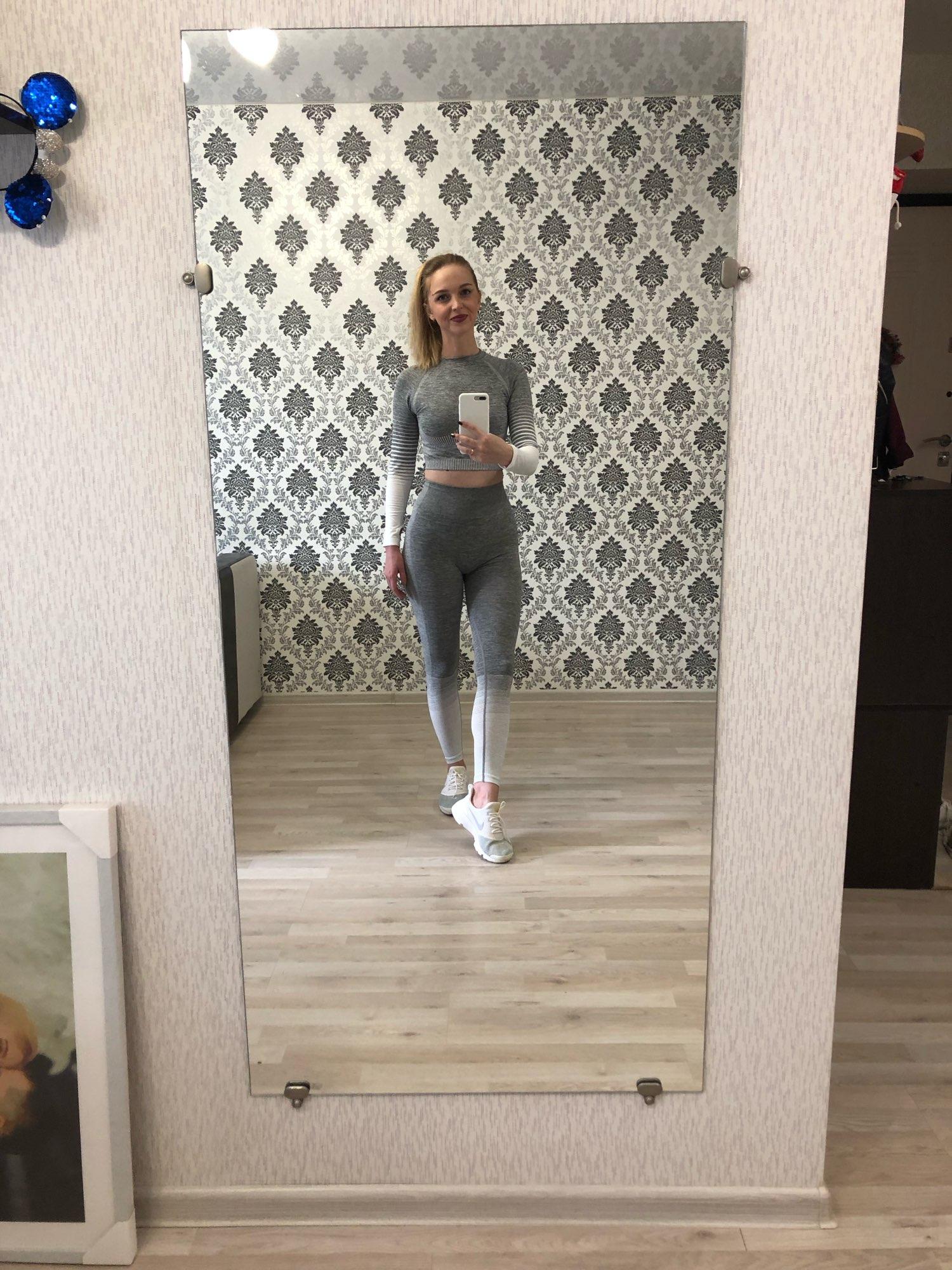 Women's Seamless Yoga Set photo review