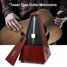 Vintage Tower Type Musical Mechanical Metronome High Accuracy Professional Piano Guitar Violin Instrument Ukulele Metronome korg tm 50 combo tuner metronome black and white available can be used for wind guitar ukulele and piano keyboard instruments