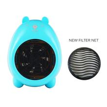 Cartoon Electric Heater Fan Portable Handy Mini Personal Ceramic Space Heater Stove Electric Winter Warmer Fan все цены