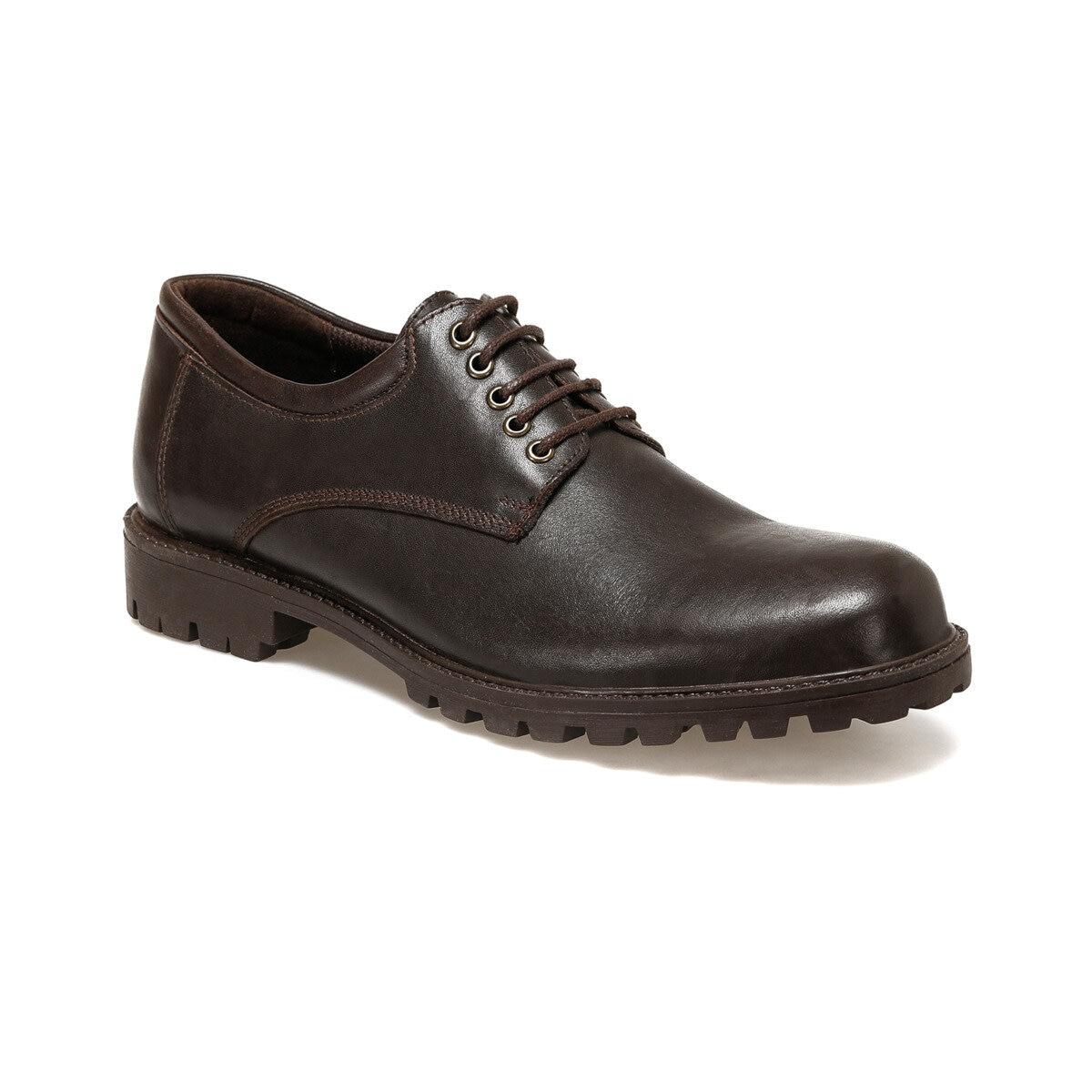 FLO 102 Brown Men 'S Classic Shoes Garamond