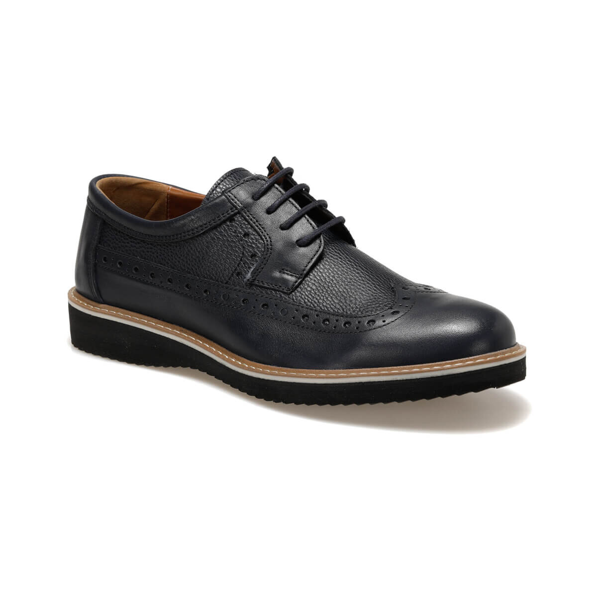 FLO 1315 Navy Blue Men 'S Classic Shoes Garamond
