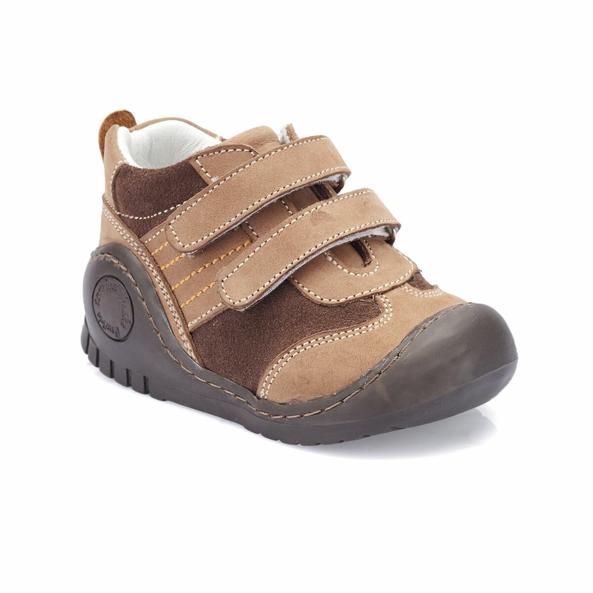FLO 82.510539.I Brown Male Child Boots Polaris