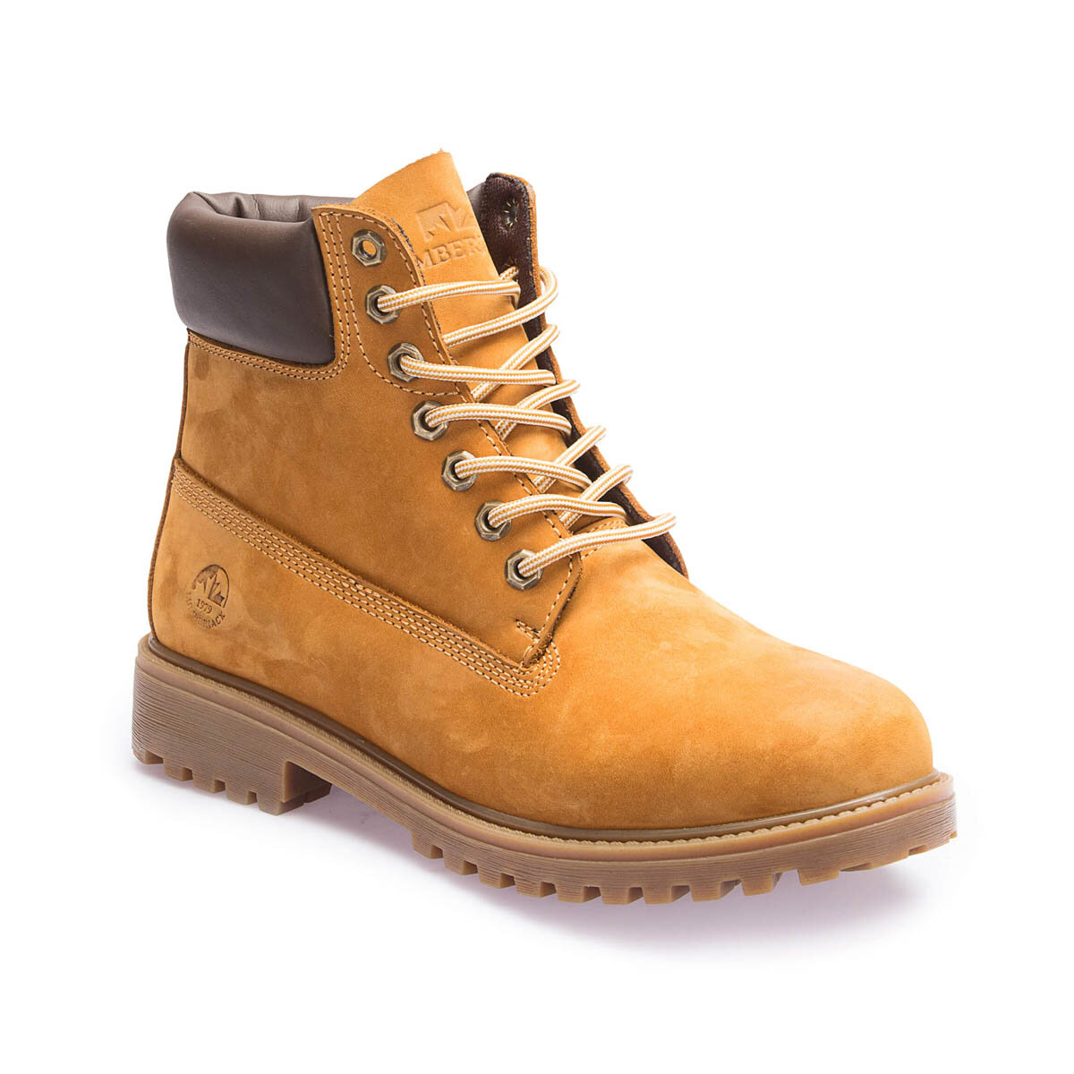 FLO A3370000 Yellow Men Boots LUMBERJACK