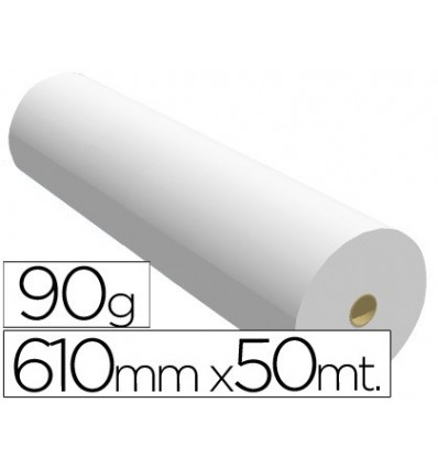 PAPER REPROGRAPHY FOR PLOTTER 610MMX50MT 90GR PRINTING INK-JET