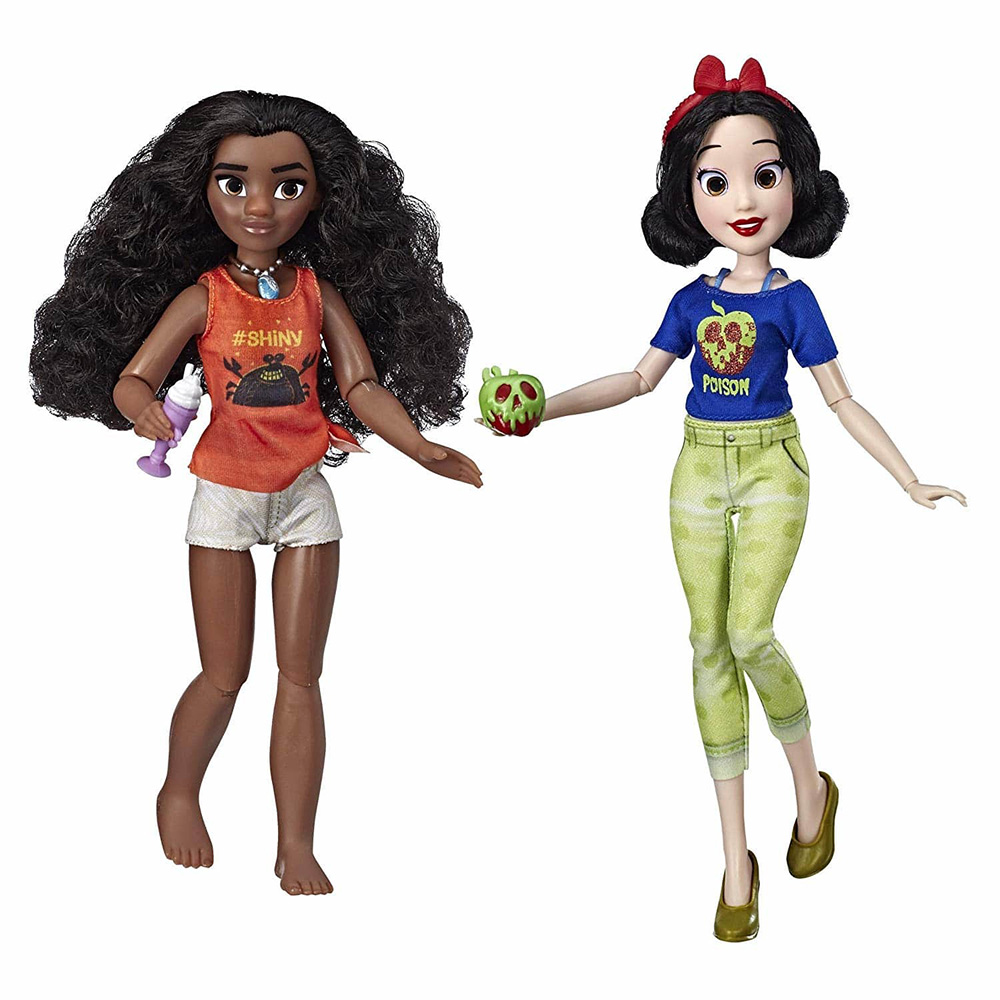 Game Set Disney Princess Moana And Snow White-Ralph Against The Internet