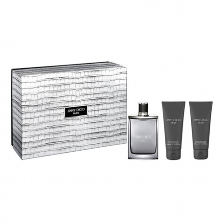 JIMMY CHOO MAN EDT 100ML + BALSAMO AFTER SHAVE 100ML + GEL 100ML